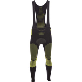X-Bionic Effektor Power Cuissard de cyclisme long Homme, black/yellow